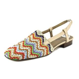 Vaneli Janet Round Toe Synthetic Slingback Sandal