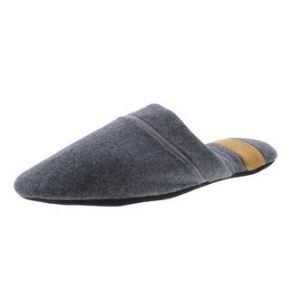 Zara Mens Wool Comfort Slide Slippers