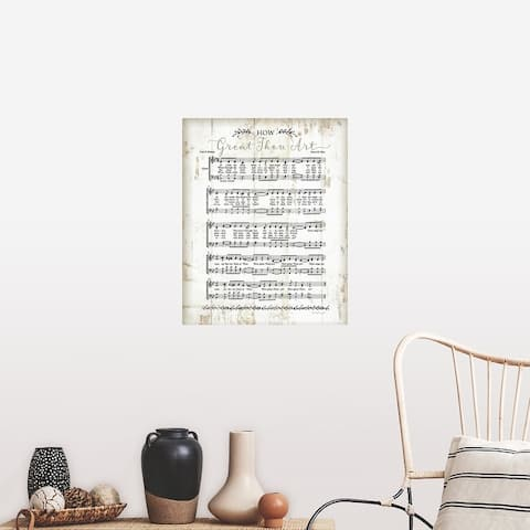"""""""How Great Thou Art"""" Poster Print"""