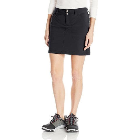 Columbia Women's Saturday Trail Skort, Black, Size 16