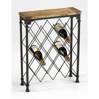 "Cyan Design 4542 28.75"" Hudson Wine Rack Wine Rack - Rustic"