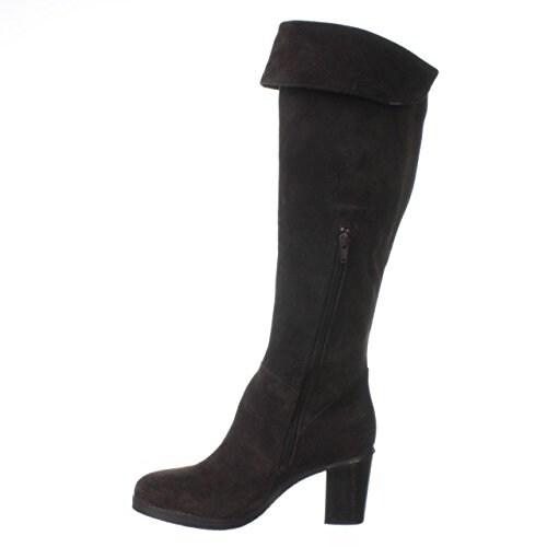 Zoe + Luca Pierre Knee-High Boots - Brown - 9.5