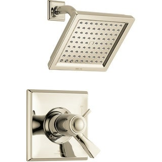 Delta T17T251  Dryden Shower Trim Package with Single Function Shower Head, TempAssure, and Touch Clean Technology