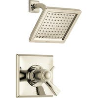 Delta T17T251 Dryden Shower Trim Package with Single Function Shower Head, TempAssure, and Touch Clean Technology - N/A