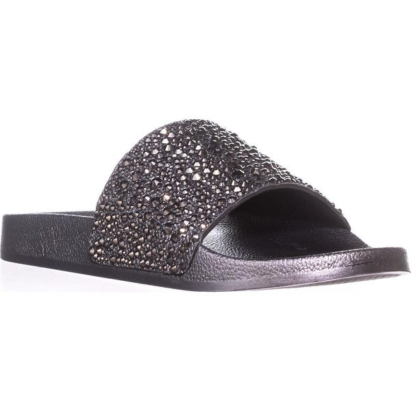 I35 Peymin2 Slip On Slide Sandals, Pewter