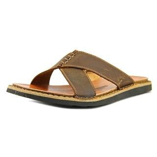 Clarks Lynton Easy Men Open Toe Leather Slides Sandal