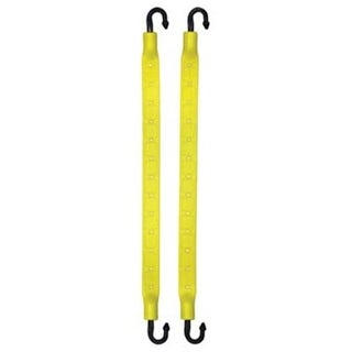 10 in. Yellow Strapgear, 2 Pack