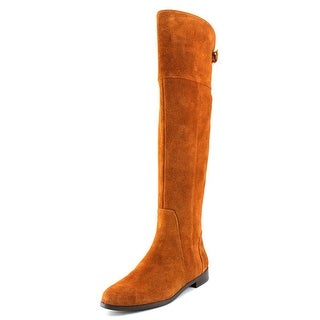 Charles By Charles David Reed Women Round Toe Suede Brown Over the Knee Boot