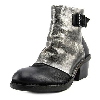 Fly London Dape Round Toe Leather Ankle Boot