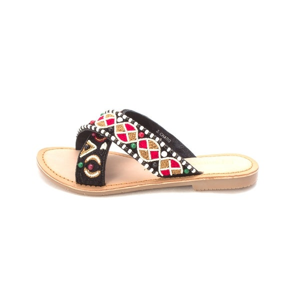 Chinese Laundry Womens z charo Open Toe Casual Slide Sandals - 6