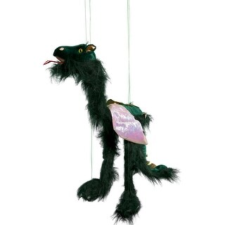 Sunny Toys WB934B 38 In. Large Marionette Dragon Wings - Green