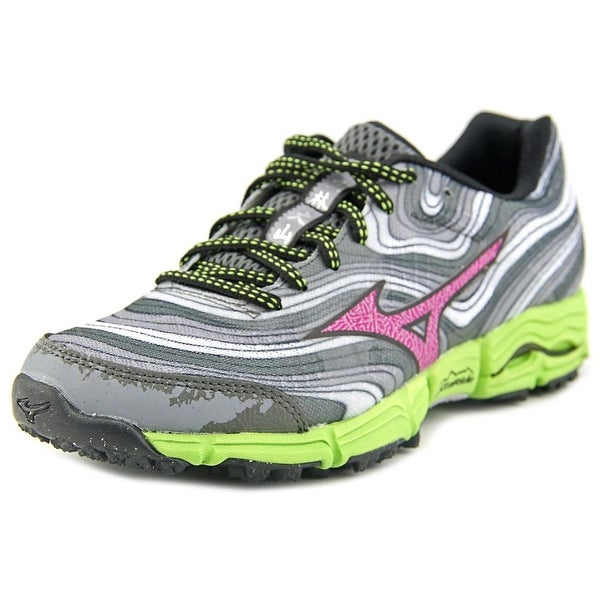 Mizuno Wave Kazan Women  Round Toe Synthetic Gray Running Shoe