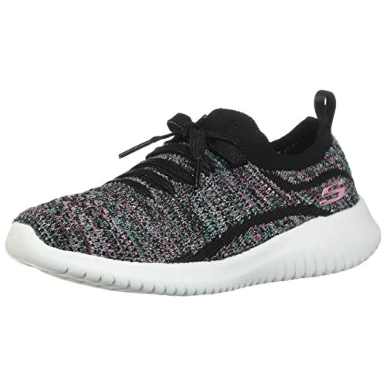 Skechers Kid's Ultra Flex Statements Girls Cross Training Shoes Black/Multi  13.5 Little Kid - Overstock - 32029616