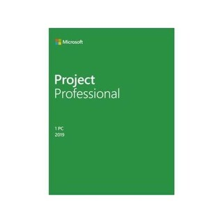 Microsoft MSPKC33650 Project Professional 2019 Medialess Software