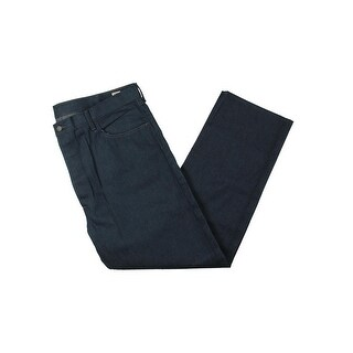 Levi's Mens 501 Straight Leg Jeans Original Fit Shrink-To-Fit - 42/32