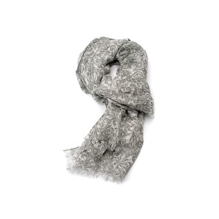 Brunello Cucinelli Linen Unisex Green Floral Lurex Scarf|https://ak1.ostkcdn.com/images/products/is/images/direct/86fa2447bc625dc2c8287483c76ae74ea4ea3fdb/Brunello-Cucinelli-100%25-Linen-Unisex-Green-Floral-Lurex-Scarf.jpg?impolicy=medium