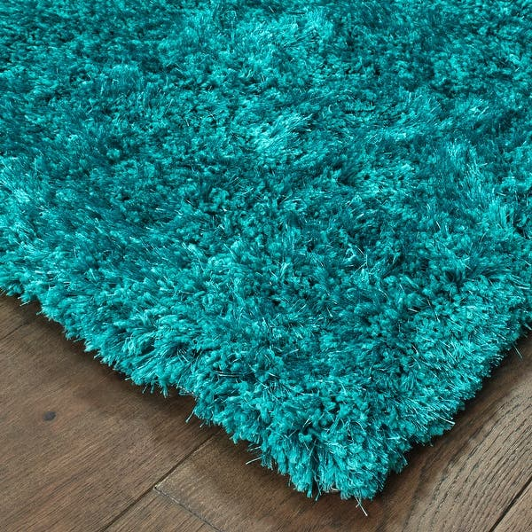 Swann Indoor Plush Hand Made Shag Area Rug On Sale Overstock 7576703