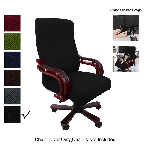 Stretch Waterproof Jacquard Office Chair Cover. Opens flyout.