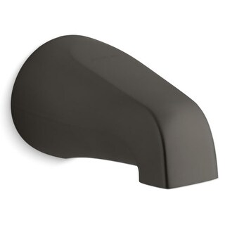 Kohler K-373-S Classic 4-7/16 Inch Non-Diverter Spout with Slip-Fit Connection from Devonshire Collection
