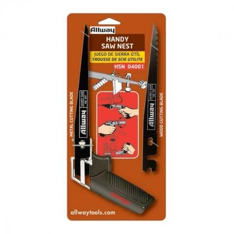 Allway Tools HSN Original Handy Saw Nest with Spare Blade