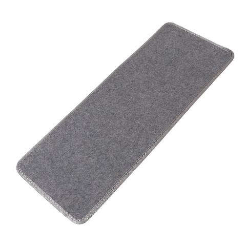 Household Polypropylene Fiber Non-slip Floor Staircase Stair Mat Carpet Gray