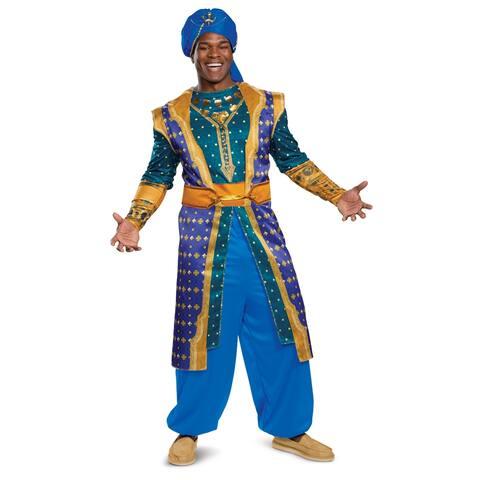 Mens Genie Deluxe Disney Aladdin Costume