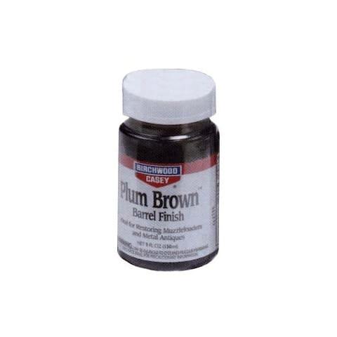Birchwood casey 14130 b/c plum brown barrel finish 5oz. jar