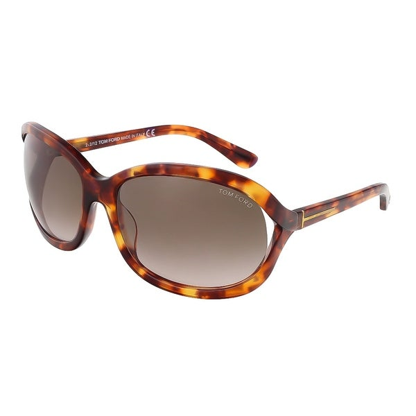 Tom Ford FT0278/S 47F Vivienne Tortoise Oval Sunglasses - 61-17-115