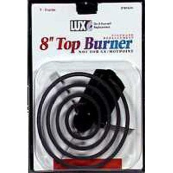 LUX PRODUCTS Electric Top Burner 8 8 RT8Y-4210