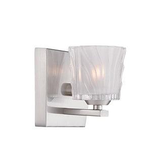 Designers Fountain 68101 Volare 1 Light Reversible ADA Compliant Bathroom Sconce