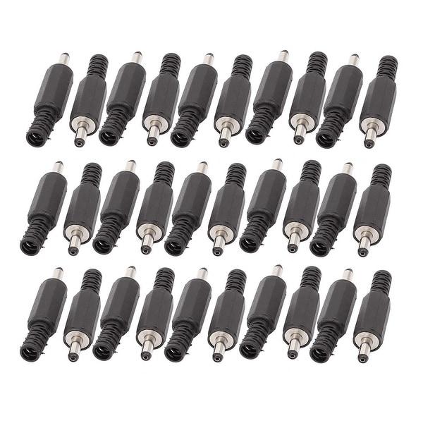 30PCS 3.5mm x 1.1mm Solder DC Power Jack Male Plug Connector Adapter