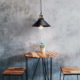 Link to 1/3 Pack Metal Pendant Light, Edison Vintage Style Hanging Barn Lampshade, E26 Base Similar Items in Pendant Lights