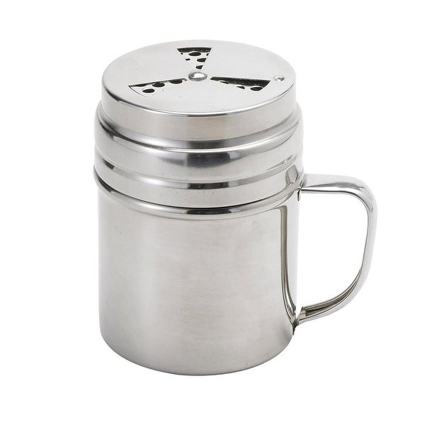Grill Friends 60576 Adjustable Rub Shaker, Stainless Steel