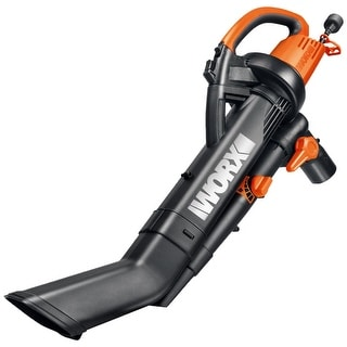 Worx WG505 Electric Trivac Blower With Metal Impeller, 12 Amp