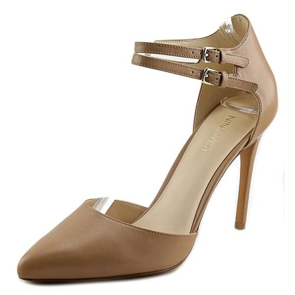 Nine West Eastlyn Pointed Toe Leather Heels