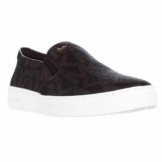 MICHAEL Michael Kors Keaton Slip On Sneakers - Brown