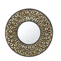 Cal Lighting WA-2159MIR Slano Round Polyurethane Beveled Mirror