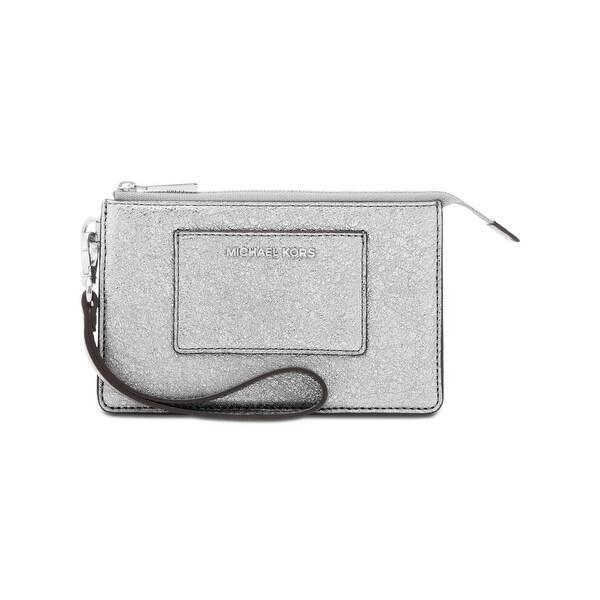 8eacd007efe6 Shop Michael Kors Womens Wristlet Wallet Textured Leather - Free ...