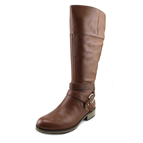Bandolino Tessi Women Round Toe Leather Knee High Boot