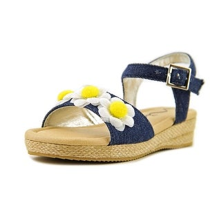 Nina Kids Donalea Toddler Open Toe Canvas Sandals