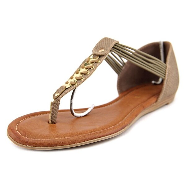 Rampage Decarte Open Toe Canvas Thong Sandal