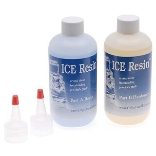 Ice Resin Jewelers Grade Clear Casting Epoxy Resin 32 oz Refill Kit