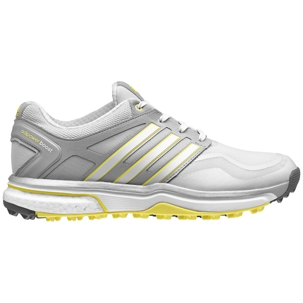 Shop Adidas Women s Adipower Sport Boost Clear Grey White Light Yellow Golf  Shoes Q47019 - Free Shipping Today - Overstock - 18258205 41191aa7e3