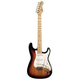 SHS International SD-100TB Sundown Electric Guitar, Tobacco Burst