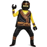 Disguise Cole Movie Deluxe Child Costume - Black/Yellow