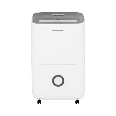 "Frigidaire FFAD3033R1 14"" Wide 30 Pint Freestanding Dehumidifier with Three Speeds - White"