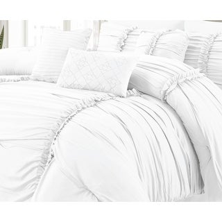 Link to Luxury Ultra Soft Goose Down Alternative Solid Comforter Set Similar Items in Comforter Sets