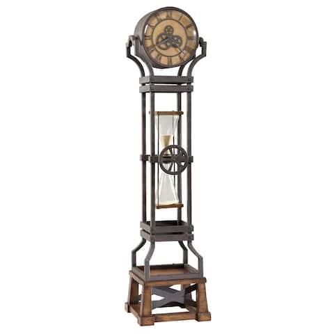 Howard Miller Hourglass Steampunk Vintage Style Standing Clock