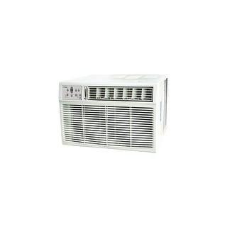 Koldfront WAC25001W  25000 BTU 208/230V Window Air Conditioner with 16000 BTU Heater and Remote Control - White