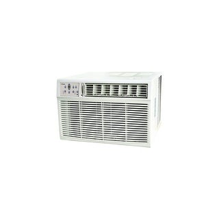 Koldfront WAC25001W 25000 BTU 208/230V Window Air Conditioner with 16000 BTU Heater and Remote Control - White - N/A